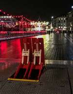 ARMIS ONE anti terror barrier at Zurich Christmas Market